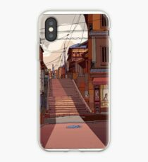 autumn steps iPhone Case