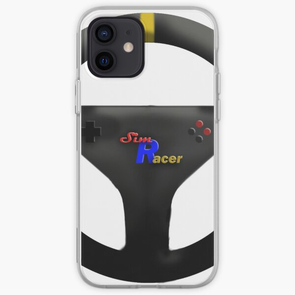 Sim Racer Steering Wheel-Multicolor iPhone Soft Case