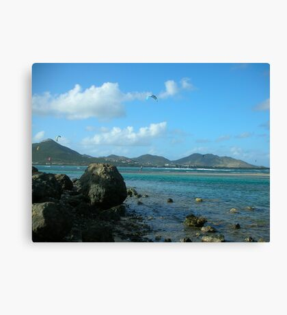 Orient Bay - Saint Martin  Canvas Print