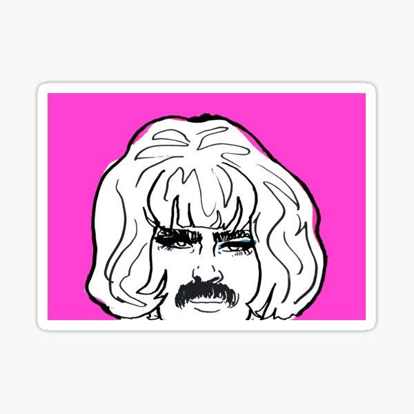 Freddie's pink Sticker