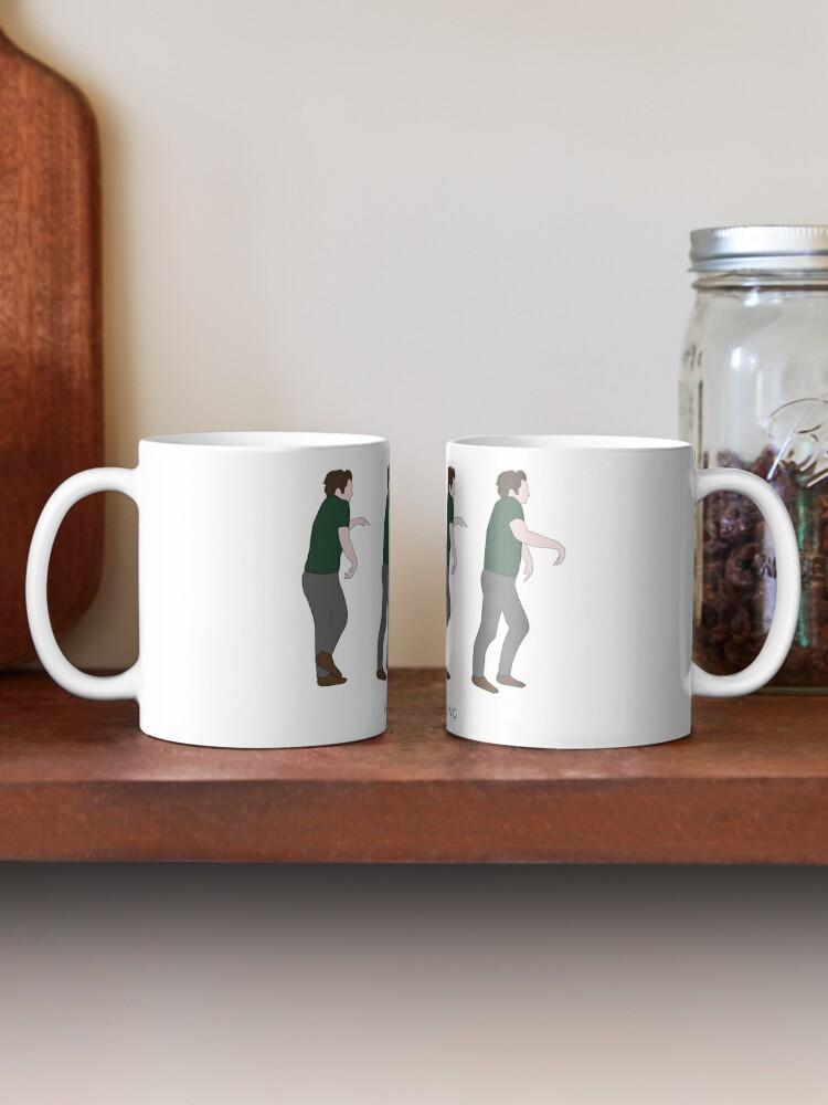 Alternate view of New Girl - Panic Moonwalking Mug