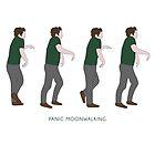 New Girl - Panic Moonwalking by Jen Tippett