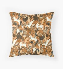 Cinnamon Pegasi  Throw Pillow