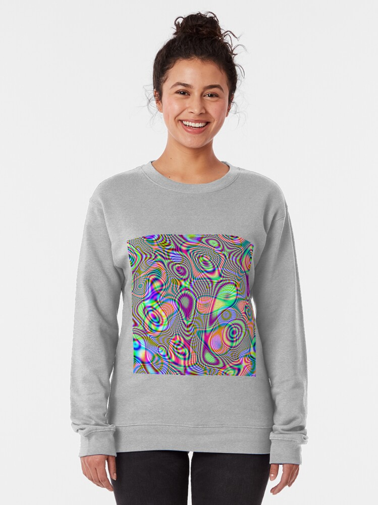 Alternate view of Abstraction #E Pullover Sweatshirt