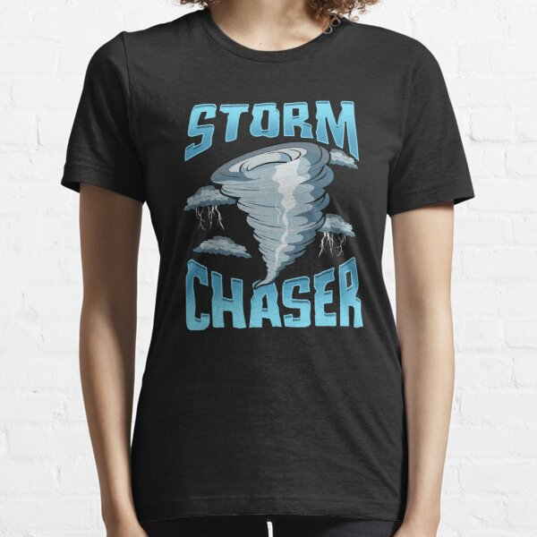 Cute Storm Chaser Severe Weather Tornado Obsessed Essential T-Shirt
