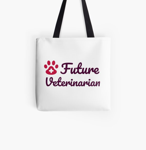 Tote Bag With Zip Future Veterinarian