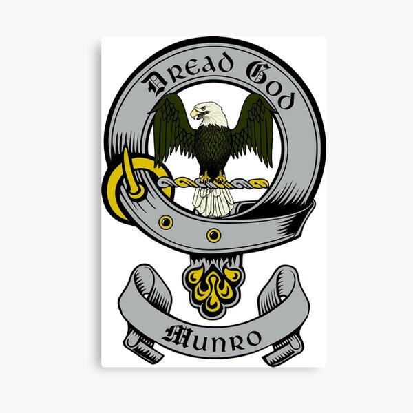Munro Crest Canvas Print