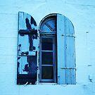 Blue window by Alessandra Antonini