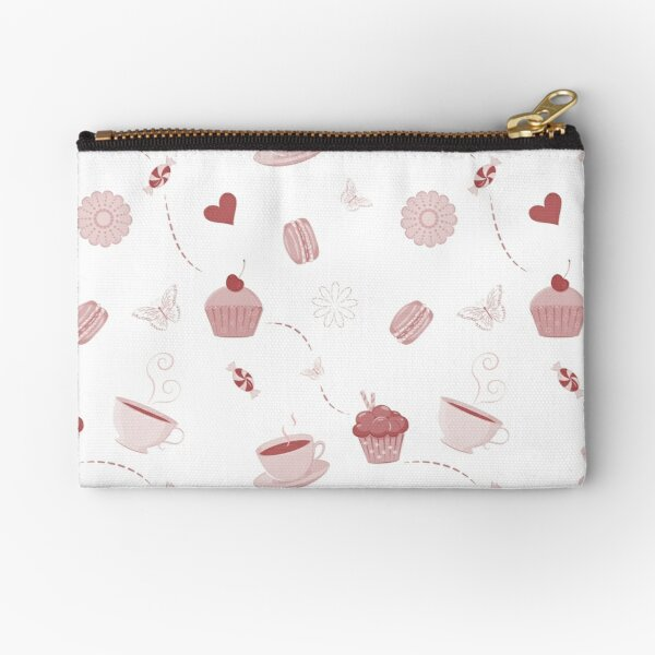 Teacups and sweets Zipper Pouch