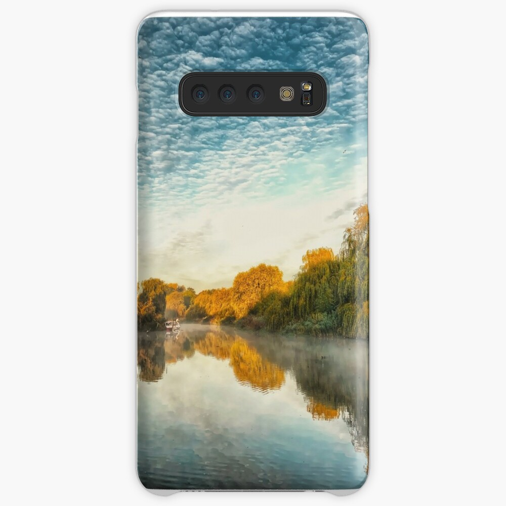 Misty morning at the lake  Case & Skin for Samsung Galaxy