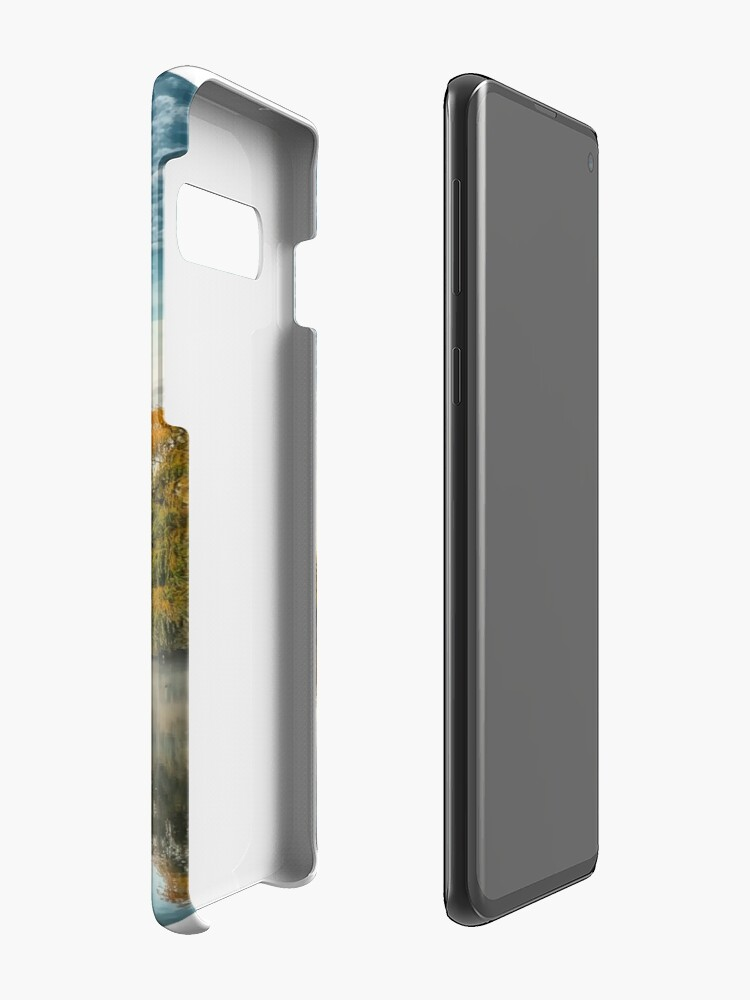 Alternate view of Misty morning at the lake  Case & Skin for Samsung Galaxy