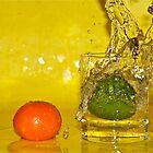 Diving lime by Ben Bugarach