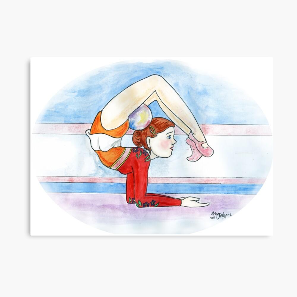 Rhythmic Gymnast Canvas Print