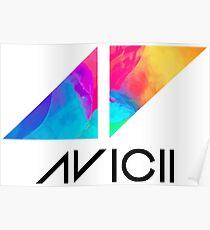 The AVICII merch Poster