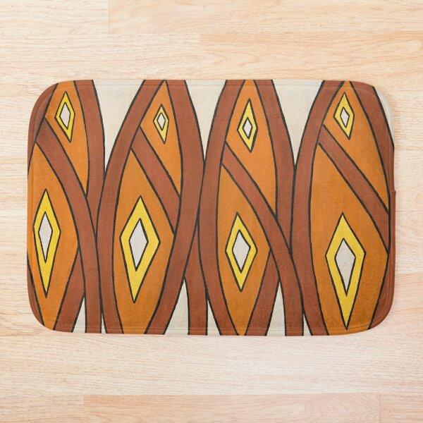 Crocodile Totem Design Bath Mat