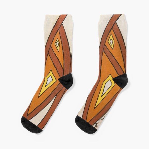 Crocodile Totem Design Socks
