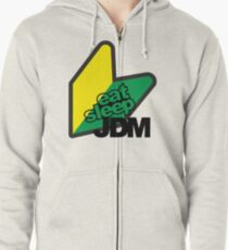 JDM Zipped Hoodie