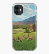 """Sumner Meadow"" oil painting by Reed Prescott iPhone Case"