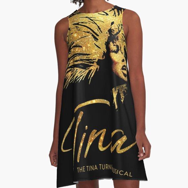 TINA - THE TINA TURNER A-Line Dress