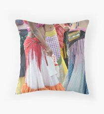 Gypsy Bellies Throw Pillow