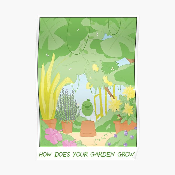 Companions - How Does Your Garden Grow? Poster