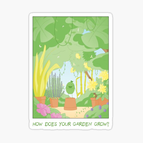 Companions - How Does Your Garden Grow? Sticker