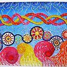 Gaietee-artwork from golf tee by marchwicki