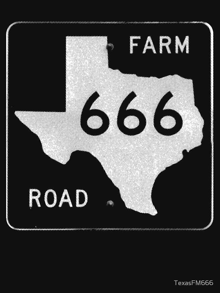 Texas Farm Road 666 | Unisex T-Shirt