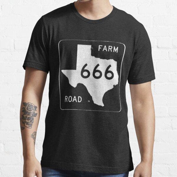 Texas Farm Road 666 Essential T-Shirt