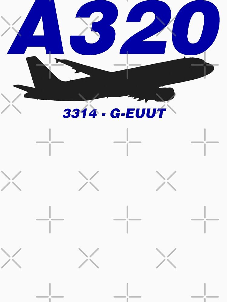 A320 3314 G-EUUT (Black Print) by AvGeekCentral