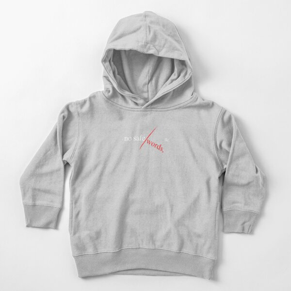 No Safe Words, LLC (w) Toddler Pullover Hoodie