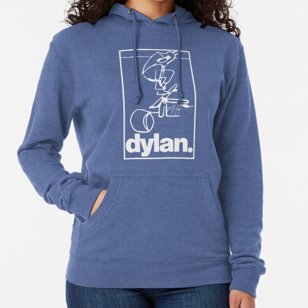 """""""DYLAN IMPOSSIBLE"""" (white lines) Lightweight Hoodie"""
