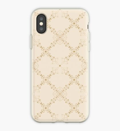 Classic and elegant floral pattern  iPhone Case