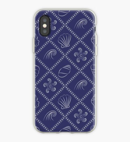 Seashells and starfishes iPhone Case
