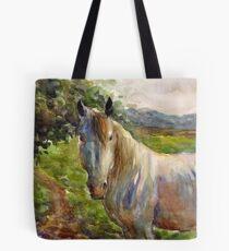 Watercolor Horse painting Svetlana Novikova Tote Bag