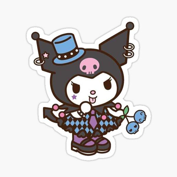 Goth Kuromi  Sticker