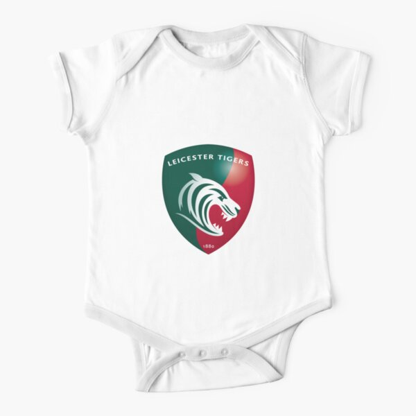Leicester Tigers Rugby Club Short Sleeve Baby One-Piece