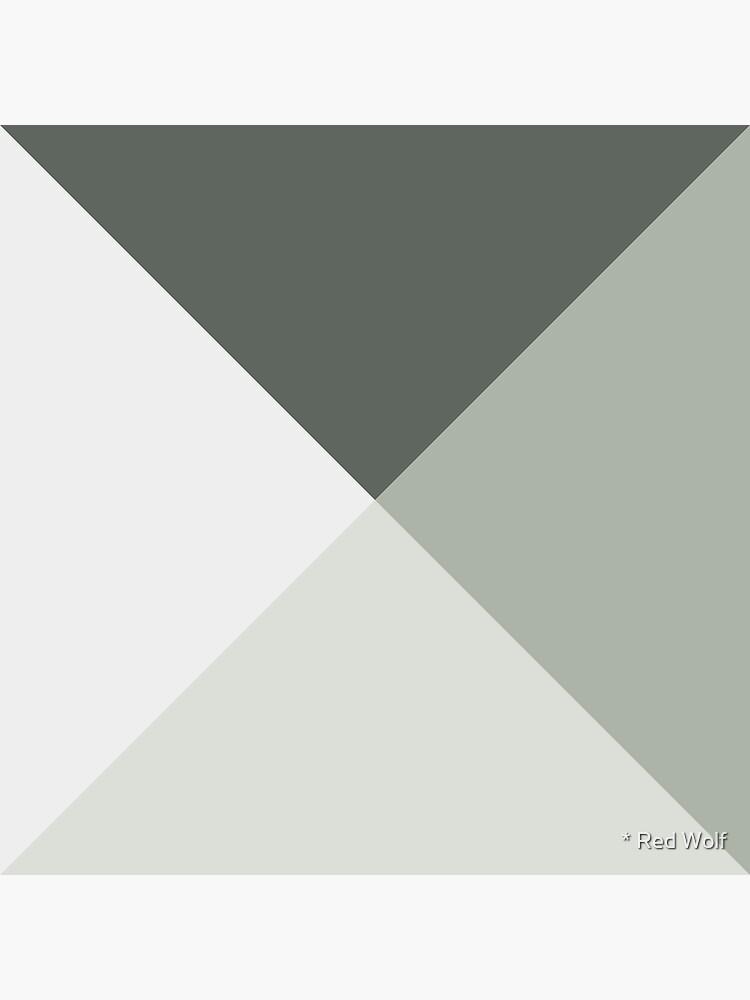 Geometric Pattern: Pyramid: Moss by redwolfoz