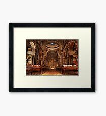 Brompton Oratory Framed Print