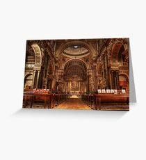 Brompton Oratory Greeting Card