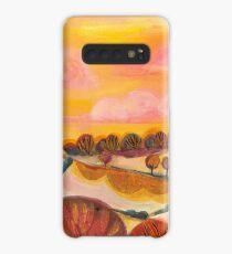 Rose Clouds Landscape Case/Skin for Samsung Galaxy