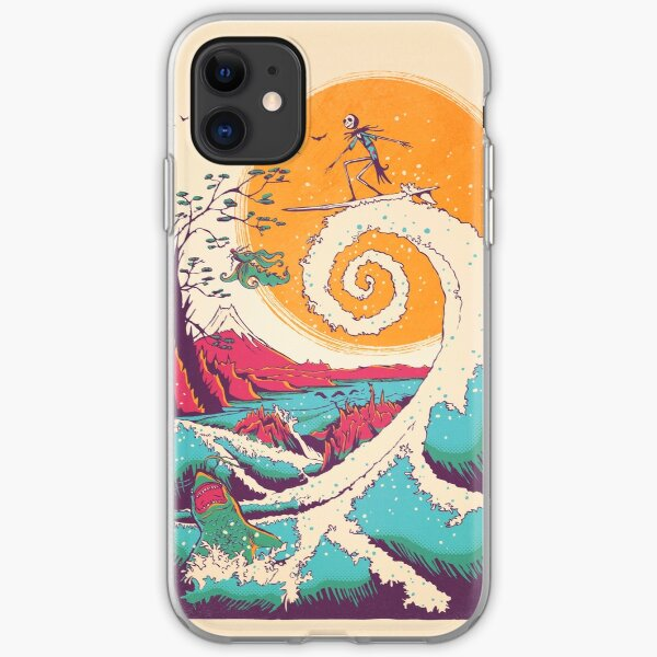 Surf Before Christmas iPhone Soft Case