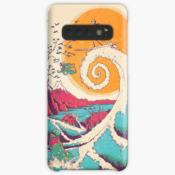 Surf Before Christmas Samsung Galaxy Snap Case