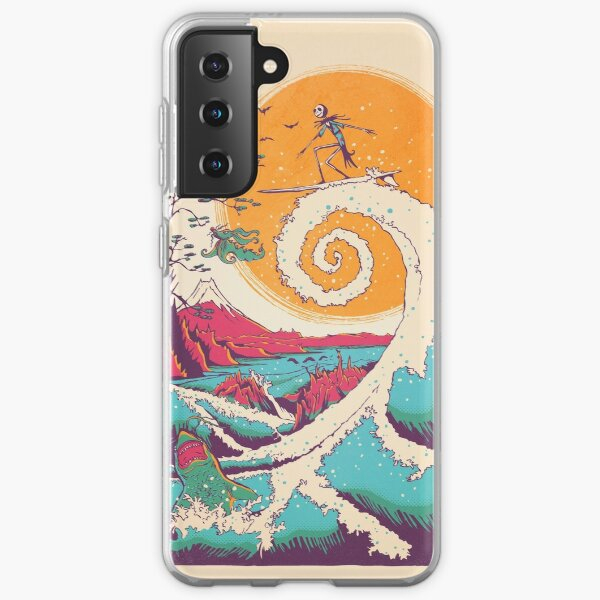 Surf Before Christmas Samsung Galaxy Soft Case