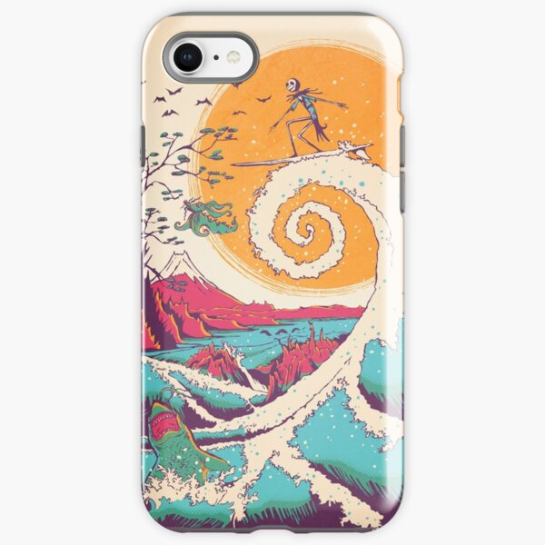 Surf Before Christmas iPhone Tough Case