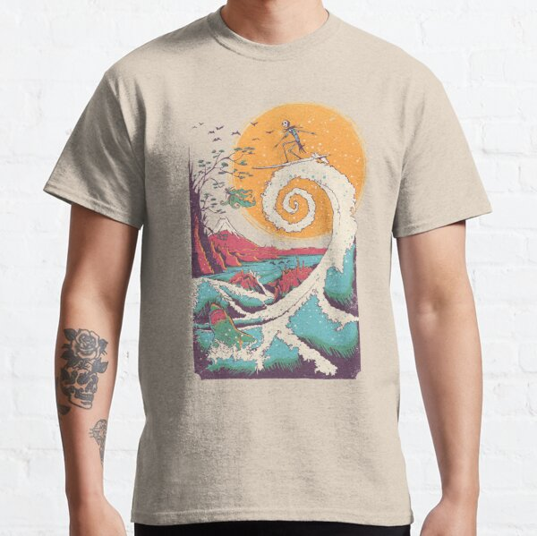 Surf Before Christmas Classic T-Shirt