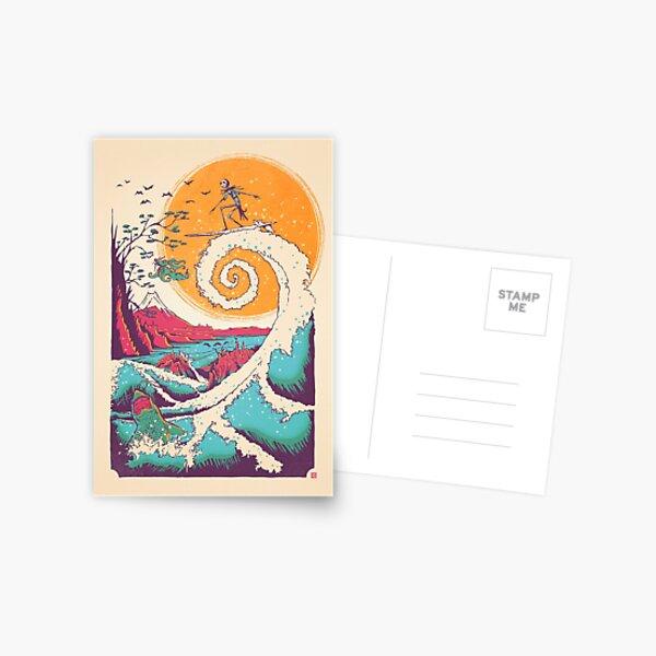 Surf Before Christmas Postcard