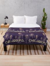 CHICAGO PD Throw Blanket