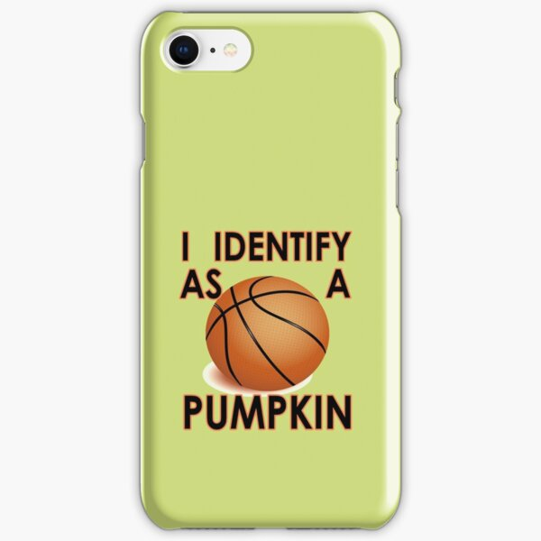 I identify as a pumpkin funny Halloween iPhone Snap Case