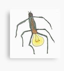 light bulb bug Canvas Print